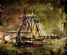 WON the 'Big and Bigger Ships' challenge of group 'Cee's Fun Artsy Frie…'