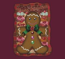 Gingerbread Man T-Shirt by Moonlake