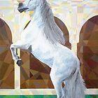 Prismatic Andalusian Stallion by Joseph Barbara