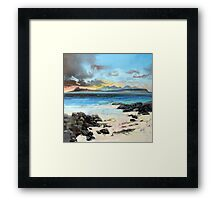 Eigg and Rum Framed Print