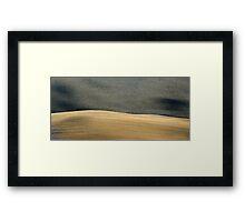 Fall Field in Tuscany-Pienza Framed Print