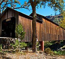 Honey Run covered bridge by Jeffrey  Sinnock