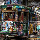 Technicolor Tram by clydeessex