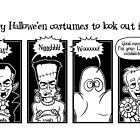 Scary Hallowe'en Costumes To Look Out For by Alex Hughes