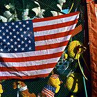 Flag at Fair by Susan R. Wacker