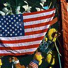 Flag at Fair by Susan R. Wacker