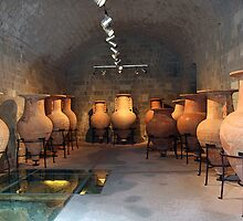 Ancient Urns in the Archeological Museum of Rhodes by robrich