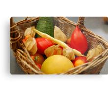 Harvest - Fruit and Vegetables Metal Print