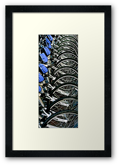 Bikes For Rent In San Francisco, CA. by Scott Johnson