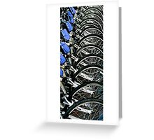 Bikes For Rent In San Francisco, CA. Greeting Card
