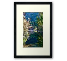 Riverscape in Eastern Washington State, USA Framed Print