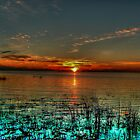 Opalescent Sunset by Larry Trupp