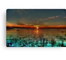 Opalescent Sunset Canvas Print