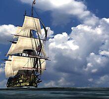 HMS Victory by jedswindells