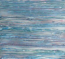 Sky Meets Sea Dressed in Blue by linmarie