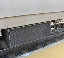 MBTA Commuter Rail's Heater/Air conditioner vent by Eric Sanford