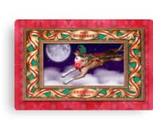 Santa's Employee of the Month Canvas Print