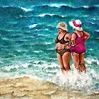 Beach Babes II by Sherry Cummings