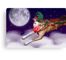 Santa's Employee of the Month II Canvas Print
