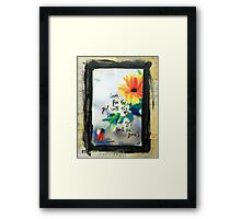 Look for the girl with the sun in her eyes Framed Print