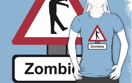 Caution: Zombies by TheRandomFactor
