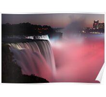 Niagara lights Poster
