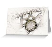 Ruffled Flower Greeting Card