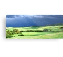 Storm Over Siena-Siena, Itlay Metal Print