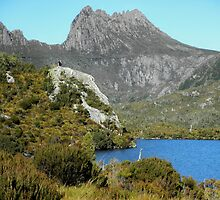 Glacier Rock, Dove Lake, Cradle Mountain,Tasmania, Australia. by kaysharp