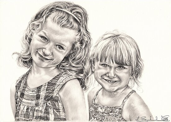 Caitlin and Alannah by L K Southward