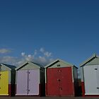 brighton beach huts by sofiesofie