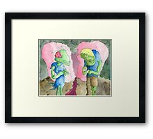 Undead, Unsure Framed Print