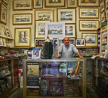 The art-shop in Valletta,Malta. by Ellen van Deelen