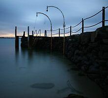 Pilot Wharf by Adam  Davey