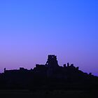 Corfe Skyline by pix-elation