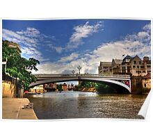 Lendal Bridge York Poster