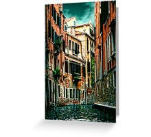 *The Quiet Canal, Venice* Greeting Card