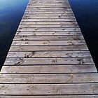 Wooden Pier by Madeleine Forsberg