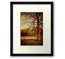 Oak Ridge Autumn Framed Print