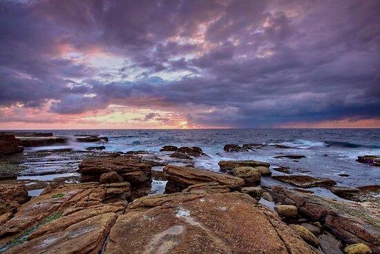 Sunrise- Maroubra  by Mark  Lucey