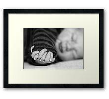Little Fingers...   Framed Print