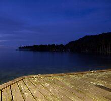 Blue Eve - Blue Lagoon Resort, Micronesia by Brian Beardon