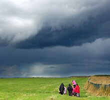 Approaching Storm by Rees Adams