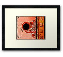 Zero Squared Framed Print