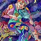 Street Fiddler by Sally Sargent