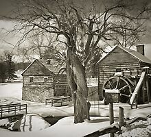 McCormick's Farm In Winter by Kathy Jennings