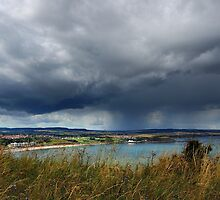 Threatening Sky, North bay Scarborough by Rees Adams