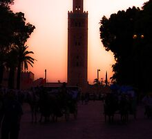 Twlight in Marrakech by johnrinaldi