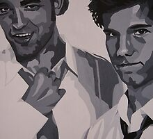 Robert Pattinson ~ Taylor Lautner by Kursed
