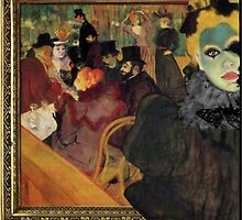 Toulouse Lautrec and ME by Kara Skye Smith